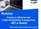 Crearea și utilizarea unui mediu de dezvoltare și programare .NET și NodeJs