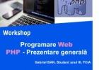 TehnologiiWeb |PHP - Prezentare generală
